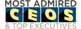 most admired CEOs & top executives sized